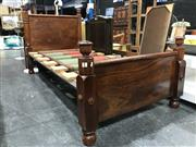 Sale 8805 - Lot 1027 - Timber Single Bed Frame