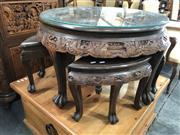 Sale 8822 - Lot 1871 - Nest of 5 Chinese Tables