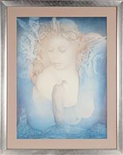 Sale 8927 - Lot 2096 - Sophie Bussow - Self Portrait 80 x 59.5 cm