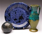 Sale 9078 - Lot 124 - A Group of Good Studio Pottery, Dia 24cm (3)