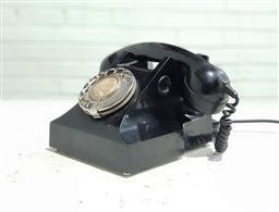 Sale 9121 - Lot 1009A - Black Bakelite telephone