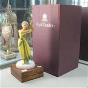Sale 8304 - Lot 18 - Royal Doulton Figure Indian Temple Dancer AF (Fingers in Office)