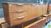 Sale 8395 - Lot 1018 - Quality 1960s Teak Sideboard