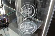 Sale 8360 - Lot 8 - Pair Of Lalique Tall Ship Plates