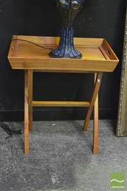 Sale 8398 - Lot 1010 - Lift Top Tray on Stand