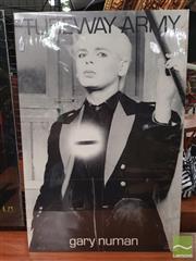 Sale 8421 - Lot 1053 - Vintage and Original Gary Numan Tubeway Army Promotional Poster (76cm x 50.5cm)