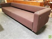 Sale 8435 - Lot 1001 - Woodmark International Woollen Four Seater Lounge