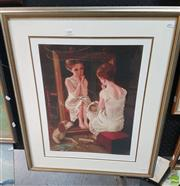 Sale 8563T - Lot 2086 - Barry Leighton Jones Decorative Print ed. 320/375, 60 x 40cm (frame), signed lower right