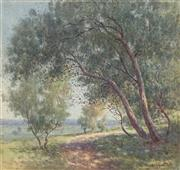 Sale 8838A - Lot 5154 - William Lister Lister (1859 - 1943) - Near Leura 42 x 40cm