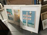 Sale 8941 - Lot 2092 - Set of (3) Tourist Posters