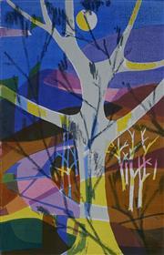 Sale 8980A - Lot 5082 - Una Foster (1912 - 1996) - Clair de lune, 1970 43 x 28 cm (sheet: 55.5 x 38 cm)
