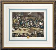 Sale 8347A - Lot 79 - William Hogarth (1697 - 1769) - Pit Ticket 29 x 36.5cm