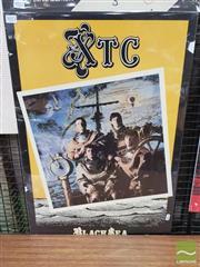 Sale 8421 - Lot 1023 - Vintage and Original XTC Black Sea Promotional Poster (70cm x 48cm)