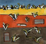 Sale 8645 - Lot 2061 - Julie C Williams - Untitled 30.5 x 30.5cm (frame: 56 x 56cm)