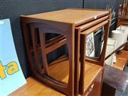 Sale 8705 - Lot 1010 - G Plan Teak Nest of Tables