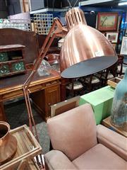 Sale 8740 - Lot 1054 - Brass Finish Standard Lamp