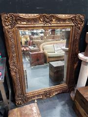 Sale 8826 - Lot 1013 - Large Reproduction Gilt Framed Mirror (166 x 136cm)