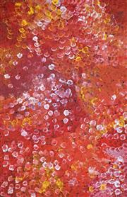 Sale 8895A - Lot 5002 - Polly Ngale (c1936 - ) - Bush Plum 150 x 97 cm