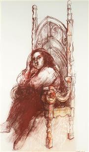 Sale 9084 - Lot 509 - Margaret Woodward (1938 - ) - The Grand Chair 100 x 58 cm (125 x 83 x 4 cm)