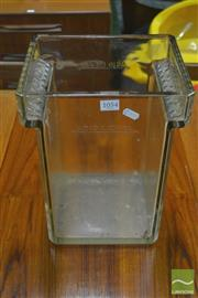 Sale 8326 - Lot 1054 - Large Clyde Glass Battery Vat