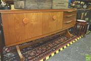 Sale 8371 - Lot 1026 - Beau-front Beautility teak sideboard