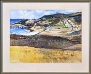 Sale 8382 - Lot 601 - Frederick Bates (1918 - ) - Catherine Hill Bay 54 x 73.5cm
