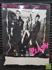 Sale 8421 - Lot 1039 - Vintage and Original The Clash New Album Promotional Poster (97cm x 74.5cm)