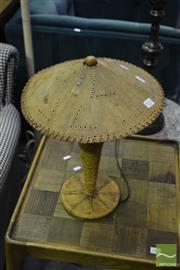 Sale 8472 - Lot 1013 - Pair of Metal Table Lamps