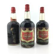 Sale 8553W - Lot 10 - 3x Alberta Distillers Cumberland Cherry Brandy - 1950s bottling