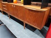 Sale 8705 - Lot 1088 - McIntosh Teak Sideboard with Frog Eye Handles
