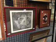Sale 8752 - Lot 2008 - 2 Works: Little Drummer, Original Screenprint & Playtime, Etching (framed/various sizes)