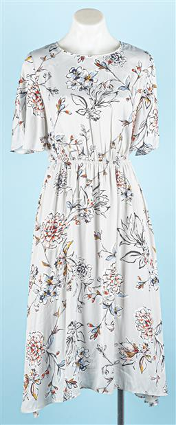 Sale 9091F - Lot 81 - A WITCHERY SUMMER DRESS with floral pattern, size 6