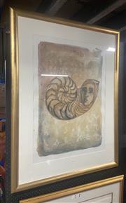 Sale 9082 - Lot 2050 - Maria Bray Antediluvian III monotype 90 x 180cm