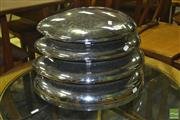 Sale 8287 - Lot 1071 - Vintage HMV beehive Heater