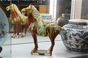 Sale 8308 - Lot 19 - Sancai Horse Figure