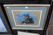 Sale 8349A - Lot 149 - Greg Lipman (1938 - ) - Old Timer 29 x 35.5cm