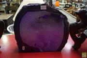 Sale 8542 - Lot 1071 - Giant Purple Polished Agate/Quartz