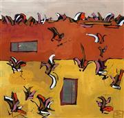 Sale 8645 - Lot 2062 - Julie C Williams - Untitled 30.5 x 30.5cm (frame: 58 x 58cm)