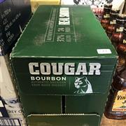 Sale 8801W - Lot 23 - 12x Cougar Bourbon, 700ml