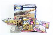 Sale 8827T - Lot 629 - A Collection of Star Wars Toys, A Super 8 and Boxed Pod Racer