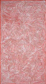 Sale 8895A - Lot 5007 - Jake Tjapaltjarri (1970 - ) - Tingari 200 x 109 cm