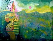 Sale 9072A - Lot 5075 - Vladimir Cora - Untitled 78 x 97 cm (frame: 119 x 147 cm)