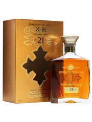 Sale 8290 - Lot 427 - 1x Johnnie Walker XR 21YO Blended Scotch Whisky - in box