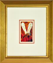 Sale 8325 - Lot 516 - Kevin Charles (Pro) Hart (1928 - 2006) - Dragonfly 14.5 x 9cm