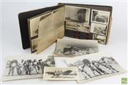 Sale 8546 - Lot 76 - Desert Campaign WWII Photo Album