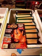 Sale 8582 - Lot 2351 - Box ofThe Ring, Boxing Magazines