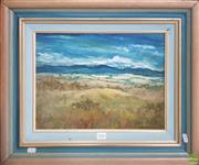 Sale 8604 - Lot 2042 - Ray Dargan - Winter, Lake Bathurst oil on board 58 x 48cm (frame size)