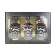 Sale 8830W - Lot 38 - Jack Daniels Master Distiller Limited Edition 3-Bottle Set Tennessee Whiskey in Display Box - all with differing Master Distiller...