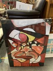 Sale 9011 - Lot 2068 - Artist Unknown Hidden Identities acrylic 120 x 90cm