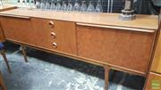 Sale 8383 - Lot 1064 - Quality McIntosh Teak sideboard with chequered doors